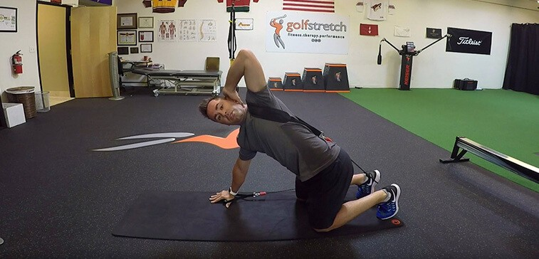 Improve Your Golf Game With Assisted Reach Backs