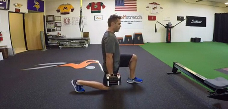 Three-Way Lunges For A Strong, Powerful Golf Stance