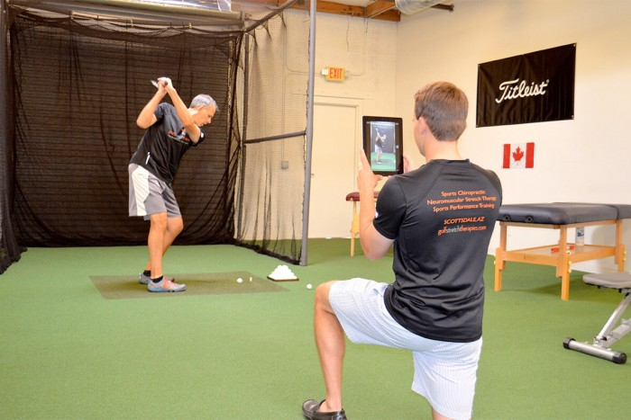 Golf Fitness assessment