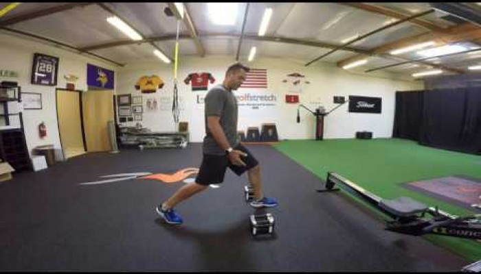 Lower body - 3 way lunges