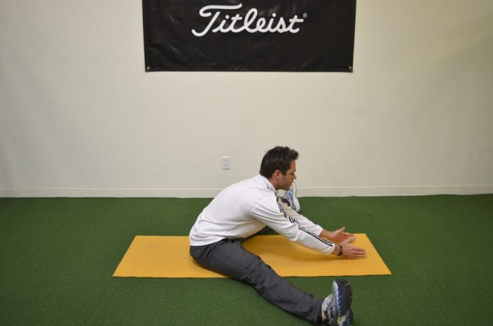 Inner leg/ Adductors stretch